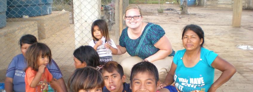 Katie Sawyer in Paraguay